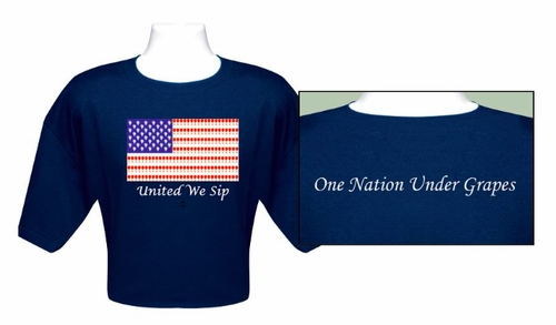 """United We Sip"" Traditional T-Shirt"