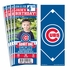 (12) Custom Chicago Cubs Birthday Party Ticket Invitations With Optional Photo