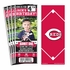 (12) Custom Cincinnati Reds Birthday Party Ticket Invitations With Optional Photo