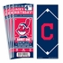 (12) Custom Cleveland Indians Birthday Party Ticket Invitations With Optional Photo