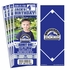 (12) Custom Colorado Rockies Birthday Party Ticket Invitations With Optional Photo