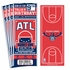 (12) Custom Atlanta Hawks Birthday Party Ticket Invitations With Optional Photo