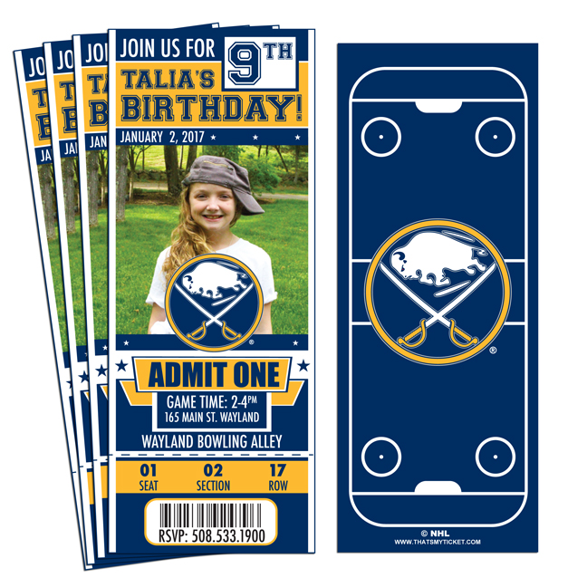 PERSONALIZED BUFFALO SABRES HOCKEY LIGHT SWITCH PLATE COVER