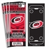 (12) Custom Carolina Hurricanes Birthday Party Ticket Invitations With Optional Photo