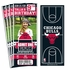 (12) Custom Chicago Bulls Birthday Party Ticket Invitations With Optional Photo