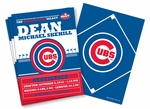 (12) Custom Chicago Cubs Birth Announcements