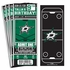 (12) Custom Dallas Stars Birthday Party Ticket Invitations With Optional Photo