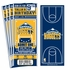 (12) Custom Denver Nuggets Birthday Party Ticket Invitations With Optional Photo