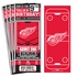 (12) Custom Detroit Red Wings Birthday Party Ticket Invitations With Optional Photo