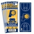 (12) Custom Indiana Pacers Birthday Party Ticket Invitations With Optional Photo