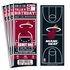(12) Custom Miami Heat Birthday Party Ticket Invitations With Optional Photo