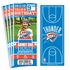 (12) Custom Oklahoma City Thunder Birthday Party Ticket Invitations With Optional Photo