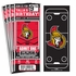 (12) Custom Ottawa Senators Birthday Party Ticket Invitations With Optional Photo