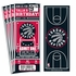 (12) Custom Toronto Raptors Birthday Party Ticket Invitations With Optional Photo