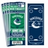 (12) Custom Vancouver Canucks Birthday Party Ticket Invitations With Optional Photo