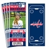 (12) Custom Washington Capitals Birthday Party Ticket Invitations With Optional Photo