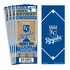 (12) Custom Kansas City Royals Birthday Party Ticket Invitations With Optional Photo