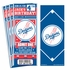 (12) Custom Los Angeles Dodgers Birthday Party Ticket Invitations With Optional Photo