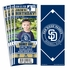 (12) Custom San Diego Padres Birthday Party Ticket Invitations With Optional Photo