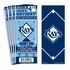 (12) Custom Tampa Bay Rays Birthday Party Ticket Invitations With Optional Photo
