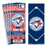 (12) Custom Toronto Blue Jays Birthday Party Ticket Invitations With Optional Photo