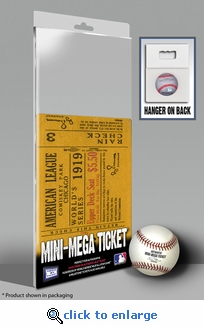 1919 World Series Mini-Mega Ticket - Chicago Black sox