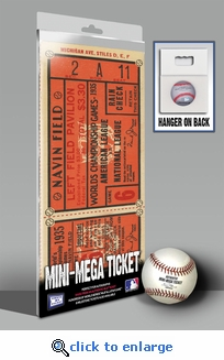 1935 World Series Mini-Mega Ticket - Detroit Tigers