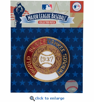 1937 World Series Embroidered Patch - New York Yankees