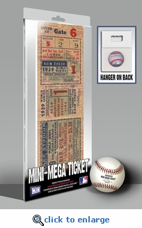 1939 World Series Mini-Mega Ticket - New York Yankees
