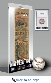 1941 World Series Mini-Mega Ticket - New York Yankees