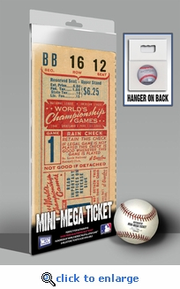 1944 World Series Mini-Mega Ticket - St Louis Cardinals