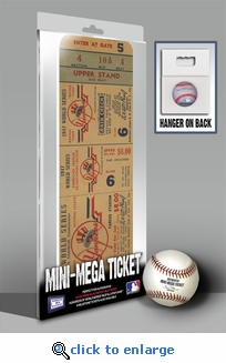 1947 World Series Mini-Mega Ticket - New York Yankees