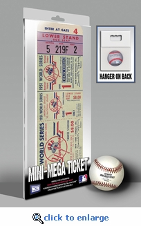1951 World Series Mini-Mega Ticket - New York Yankees