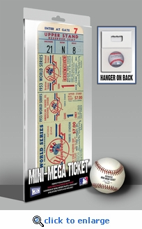 1953 World Series Mini-Mega Ticket - New York Yankees