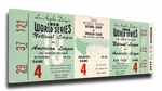 1959 World Series Canvas Mega Ticket - Los Angeles Dodgers