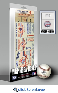 1961 World Series Mini-Mega Ticket - New York Yankees