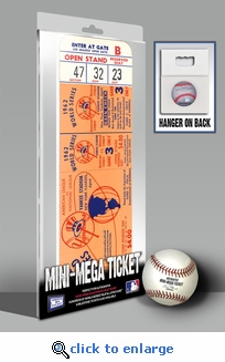 1962 World Series Mini-Mega Ticket - New York Yankees