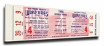 1966 World Series Canvas Mega Ticket - Baltimore Orioles