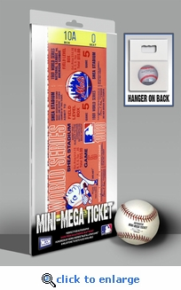 1969 World Series Mini-Mega Ticket - New York Mets