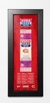 1975 World Series Framed Ticket Print - Cincinnati Reds