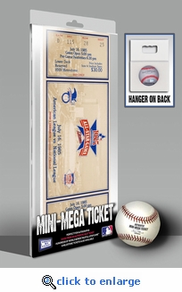 1985 MLB All-Star Game Mini-Mega Ticket, Twins Host - MVP LaMarr Hoyt, Padres