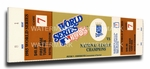 1985 World Series Canvas Mega Ticket - Kansas City Royals