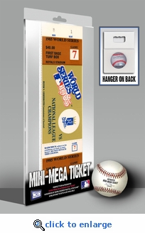 1985 World Series Mini-Mega Ticket - Kansas City Royals
