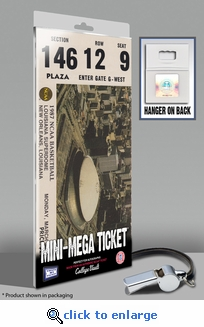1987 Final Four Mini-Mega Ticket - Indiana Hoosiers