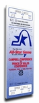 1988 NHL All-Star Game Canvas Mega Ticket, Blues - MVP Mario Lemieux