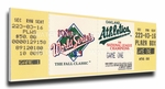 1989 World Series Canvas Mega Ticket - Oakland A's