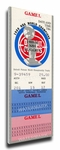 1990 NBA Finals Canvas Mega Ticket, Game 2 - Detroit Pistons
