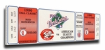 1990 World Series Canvas Mega Ticket - Cincinnati Reds