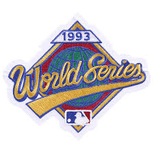 1993 World Series Embroidered Patch - Toronto Blue Jays vs Philadelphia Phillies
