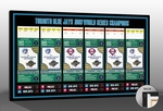 1993 World Series Tickets To History Canvas Print - Toronto Blue Jays